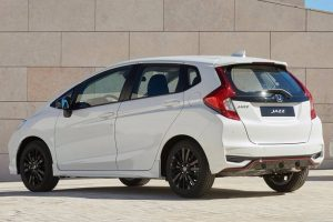 New 2018 Honda Jazz rear side