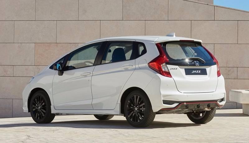 New 2018 Honda Jazz rear side