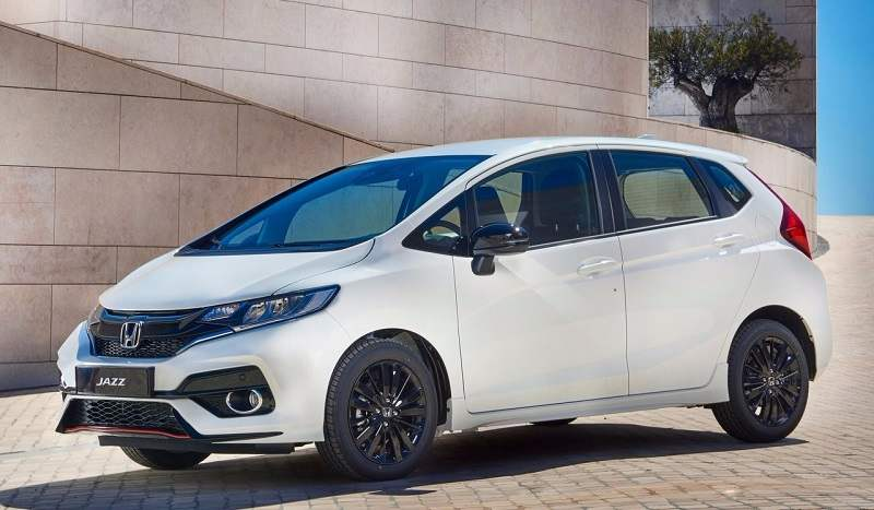 New 2018 Honda Jazz side profile