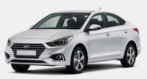 New Hyundai Verna India front