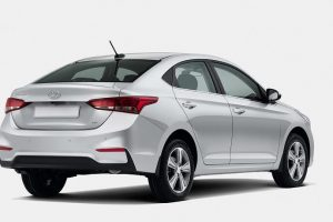 New Hyundai Verna India rear