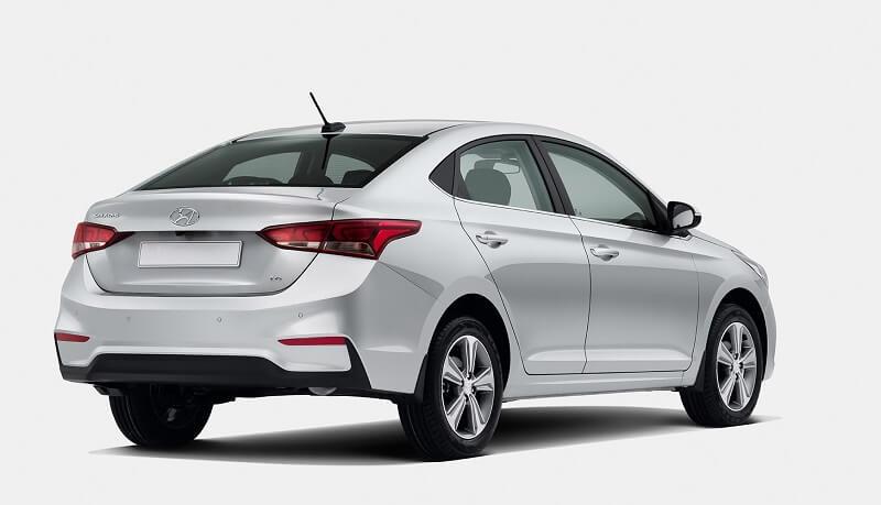 New Hyundai Verna India rear