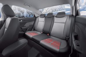 New Hyundai Verna India seats