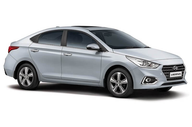New Hyundai Verna India Side Profile