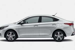 New Hyundai Verna India side view