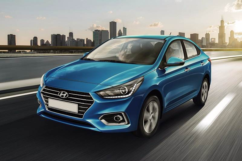 New Hyundai Verna India
