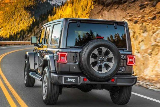 New Jeep Wrangler 2019 India Price