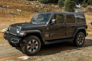 New Jeep Wrangler 2018 India Specifications