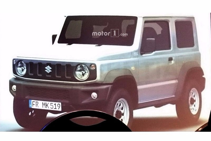 New Suzuki Jimny Leaked