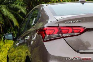 Next Gen Hyundai Verna Rear Taillamp