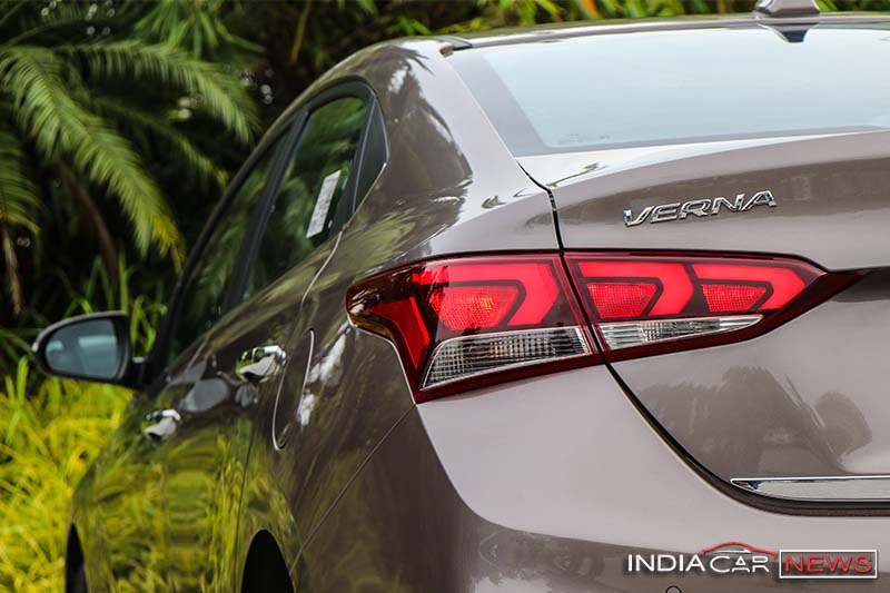 Next Gen Hyundai Verna Rear Taillamp