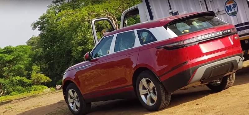 Range Rover Velar spied in India