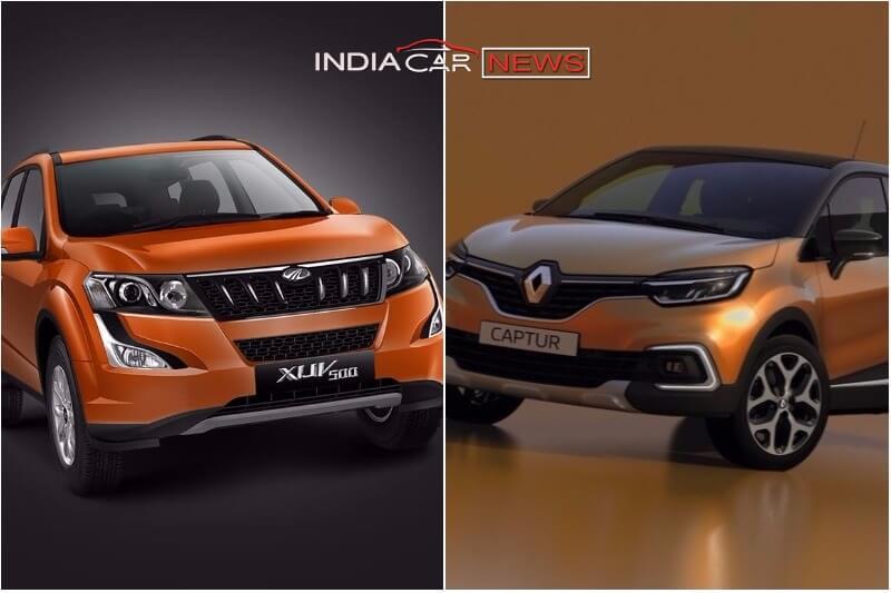Renault Captur Vs Mahindra XUV500