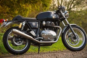 RE Continental GT 650 Black Colour