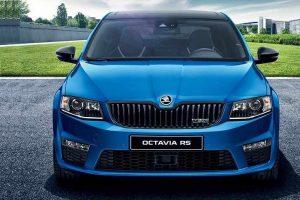 Skoda Octavia RS India front