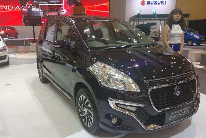 Suzuki Ertiga Dreza Front Side
