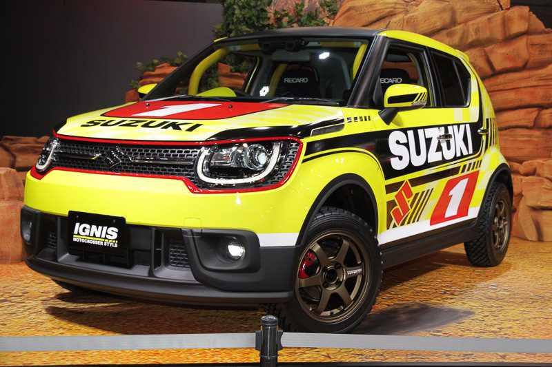 Suzuki Ignis MotoCross Front