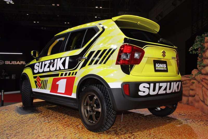 Suzuki Ignis MotoCross Rear