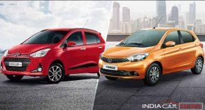 Tata Tiago Vs Hyundai Grand i10