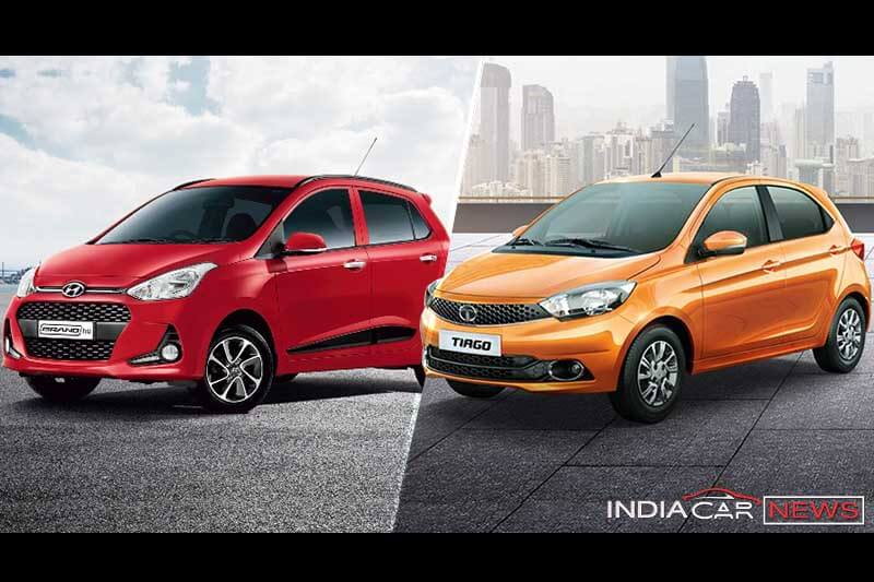 Tata Tiago Vs Hyundai Grand i10