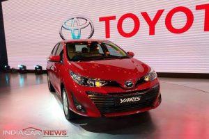 Toyota Yaris Auto Expo 2018