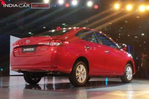 Toyota Yaris India Details