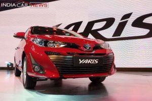Toyota Yaris India Launch