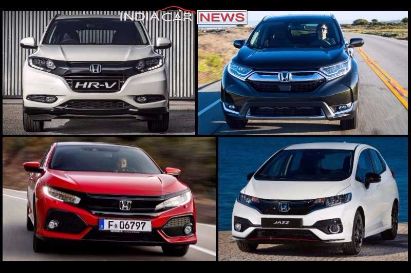 Upcoming Honda Cars In India In Price Launch - All honda cars in india