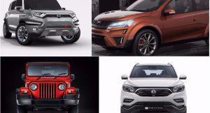 Upcoming Mahindra Cars 2018, 2019