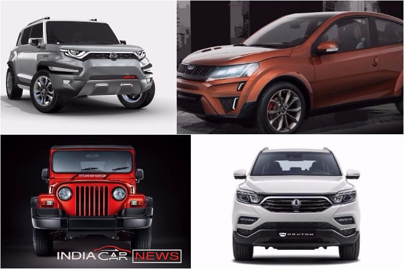 Upcoming Mahindra Cars 2018, 2019
