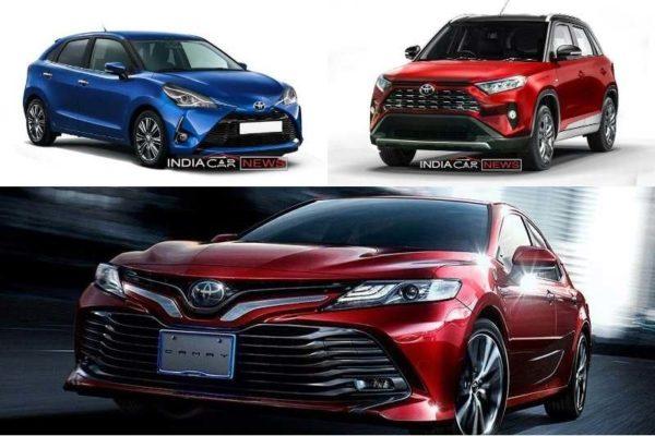 Upcoming Toyota Cars In India 2018 2019 6 Cars