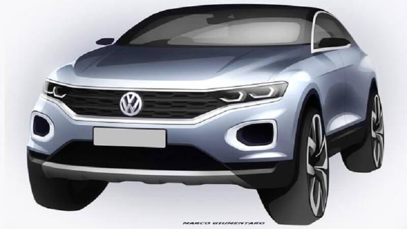 Volkswagen T-Roc SUV teaser