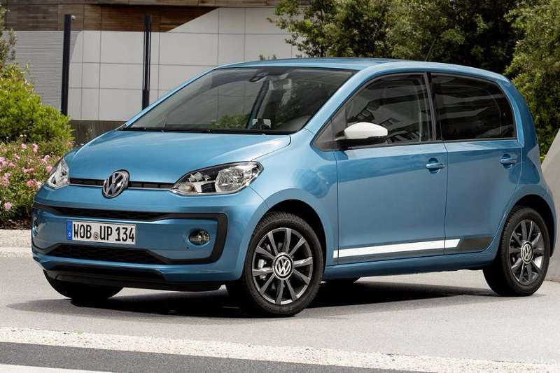 Volkswagen Up India Side Profile