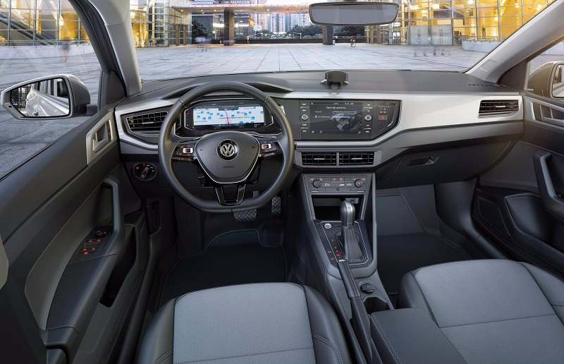 Volkswagen Virtus Revealed Interior
