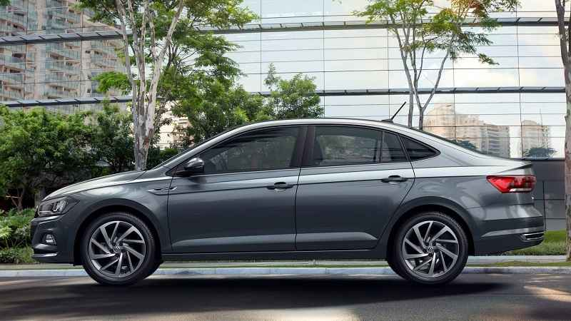 Volkswagen Virtus Revealed Side