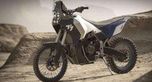 Yamaha T7 Aventure Bike engine