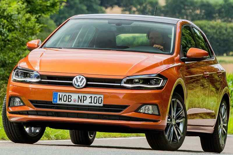 2018 Volkswagen Polo front