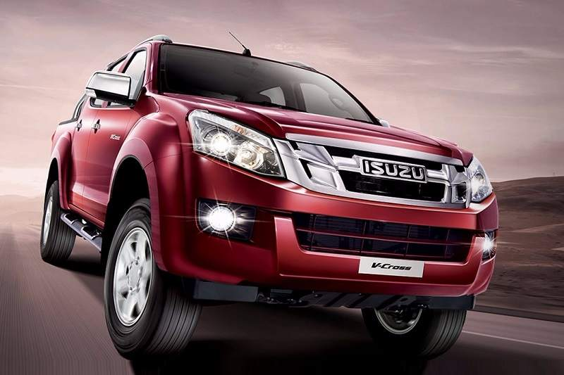 Isuzu V Cross Red