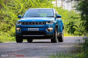 Jeep Compass Review Front