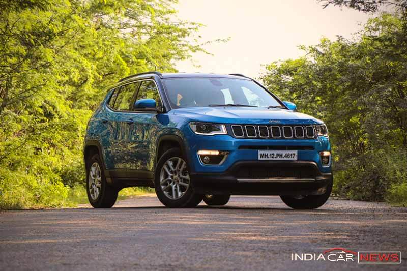 Jeep Compass Review Front Side