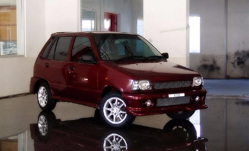 Kitup Maruti 800 body kit