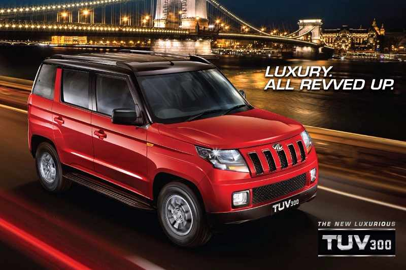 Mahindra TUV300 features