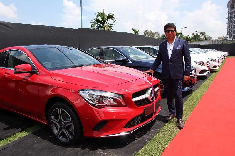 Mercedes Festive Season Record Sales