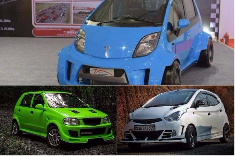 Modified Budget Hatchbacks