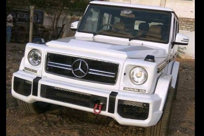 Modified Mahindra Bolero G-Wagon