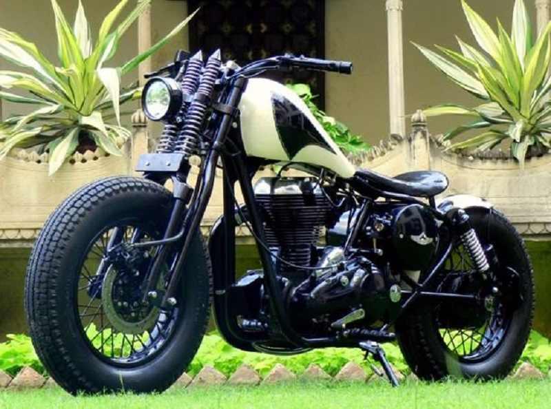 Modified RE Classic 350 by Rajputana Customs