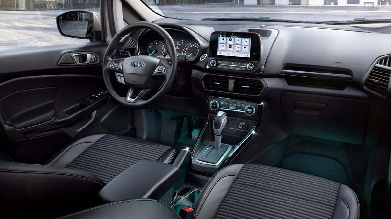 New Ford EcoSport Revealed Interior