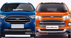 New Ford EcoSport Vs Old EcoSport (1)