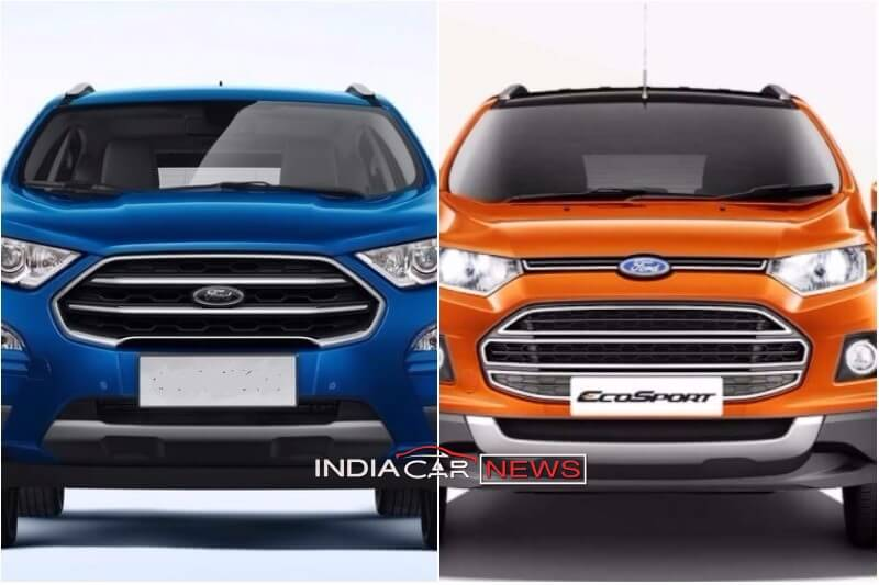 New Ford Ecosport Vs Old Ecosport Comparison