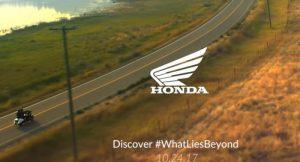 New Honda Bike Teaser